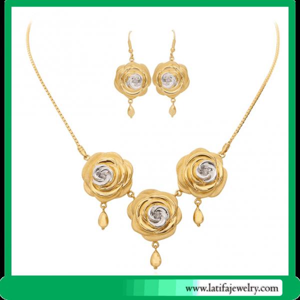 liontin kalung emas kuning mawar jual perhiasan wanita jogja depok jakarta
